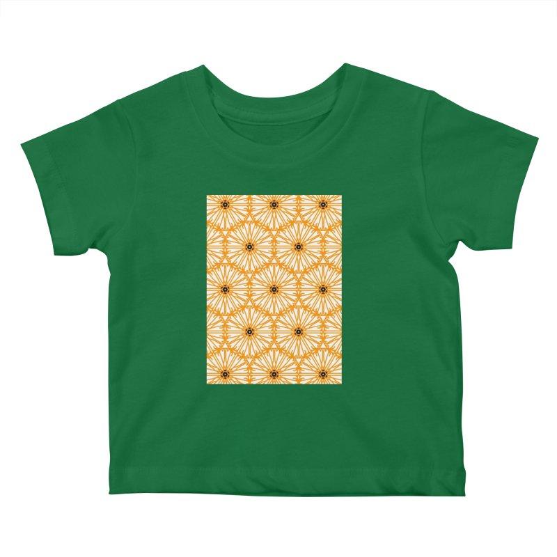 Sunflower Kids Baby T-Shirt by Gab Fernando's Artist Shop