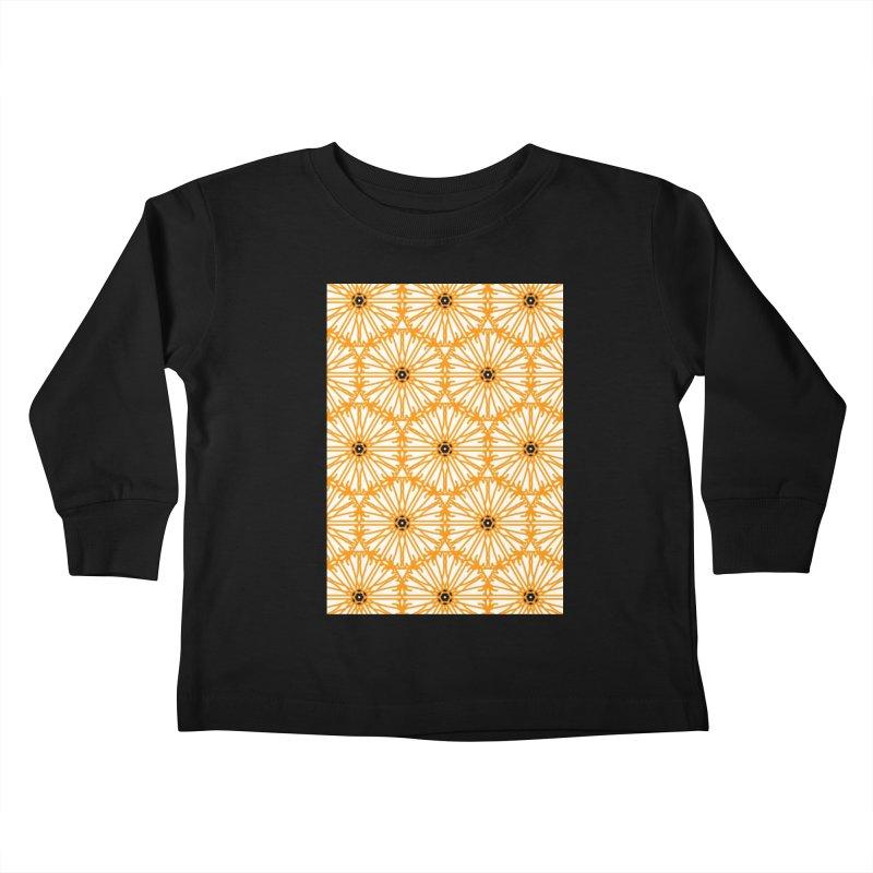 Sunflower Kids Toddler Longsleeve T-Shirt by Gab Fernando's Artist Shop