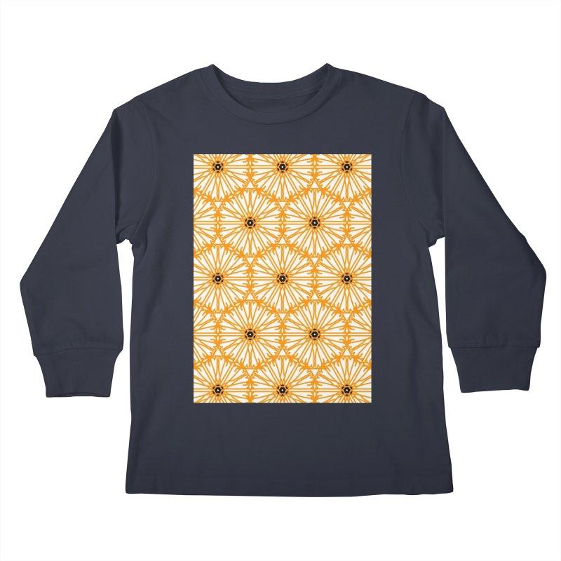 Sunflower Kids Longsleeve T-Shirt by Gab Fernando's Artist Shop