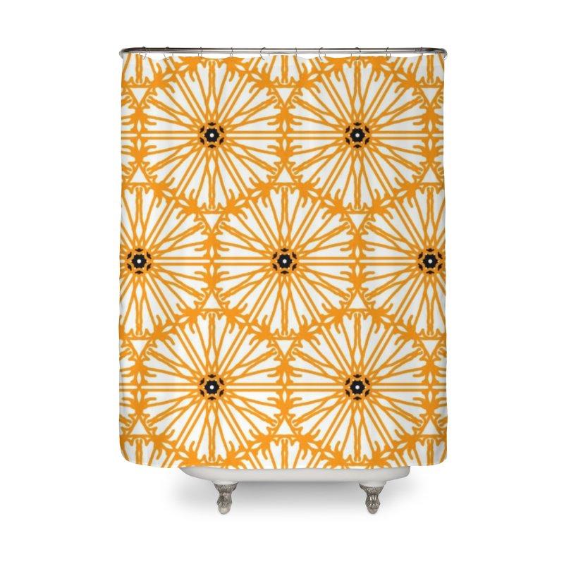 Sunflower Home Shower Curtain by Gab Fernando's Artist Shop