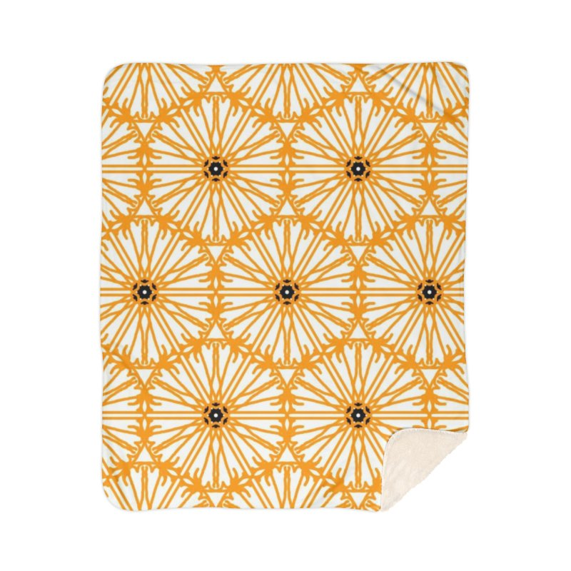 Sunflower Home Blanket by Gab Fernando's Artist Shop
