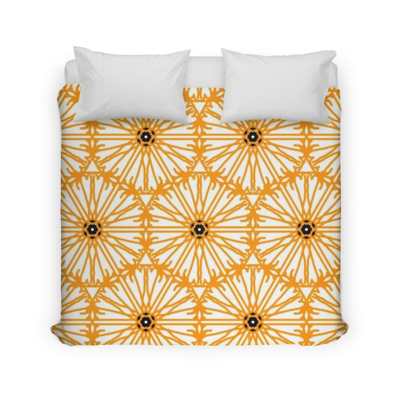 Sunflower Home Duvet by Gab Fernando's Artist Shop