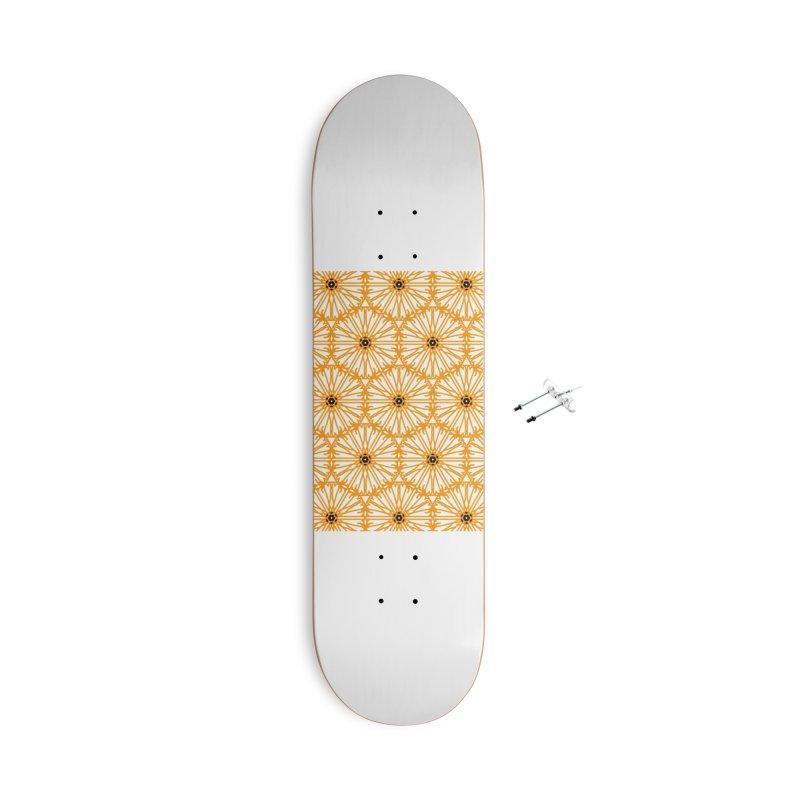 Sunflower Accessories Skateboard by Gab Fernando's Artist Shop