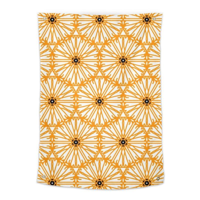 Sunflower Home Tapestry by Gab Fernando's Artist Shop