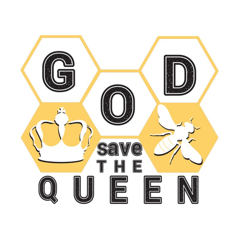 god save the queen_2 Men's T-Shirt by gabifaveri's Artist Shop