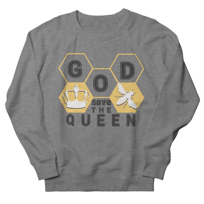 god save the queen_2 Men's French Terry Sweatshirt by gabifaveri's Artist Shop