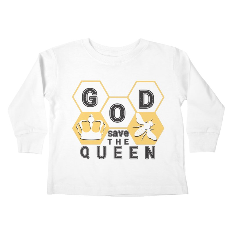 god save the queen_2 Kids Toddler Longsleeve T-Shirt by gabifaveri's Artist Shop