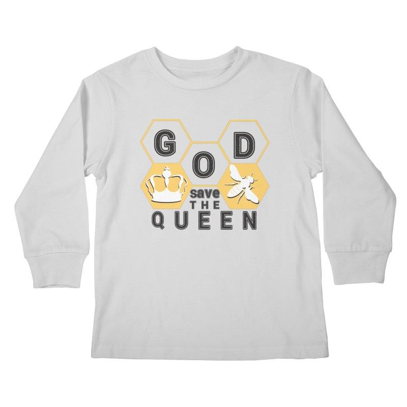 god save the queen_2 Kids Longsleeve T-Shirt by gabifaveri's Artist Shop