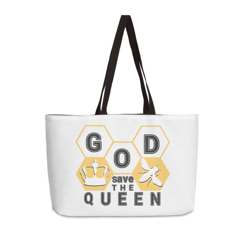 god save the queen_2 Accessories Weekender Bag Bag by gabifaveri's Artist Shop