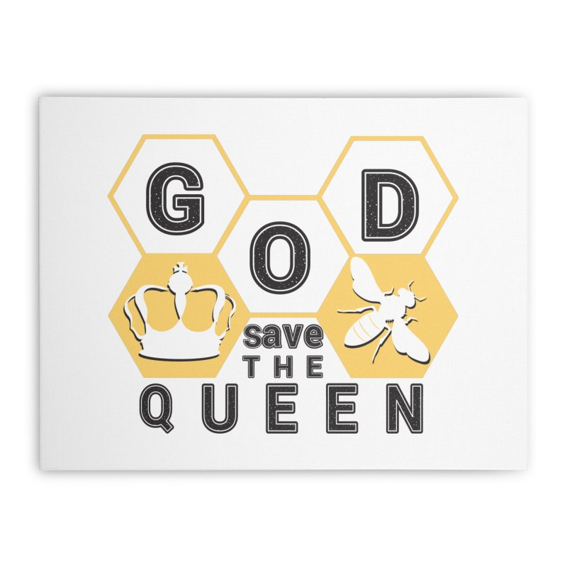 god save the queen_2 Home Stretched Canvas by gabifaveri's Artist Shop