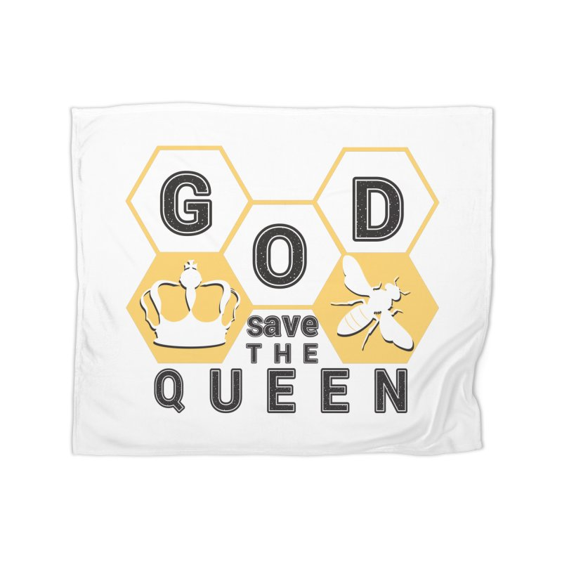 god save the queen_2 Home Fleece Blanket Blanket by gabifaveri's Artist Shop