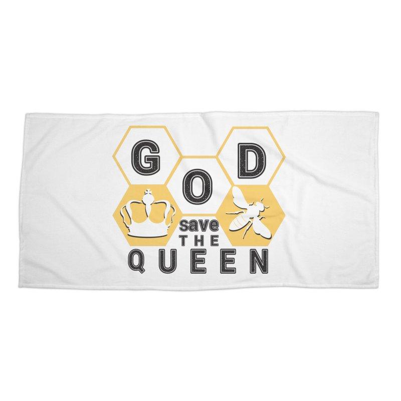 god save the queen_2 Accessories Beach Towel by gabifaveri's Artist Shop