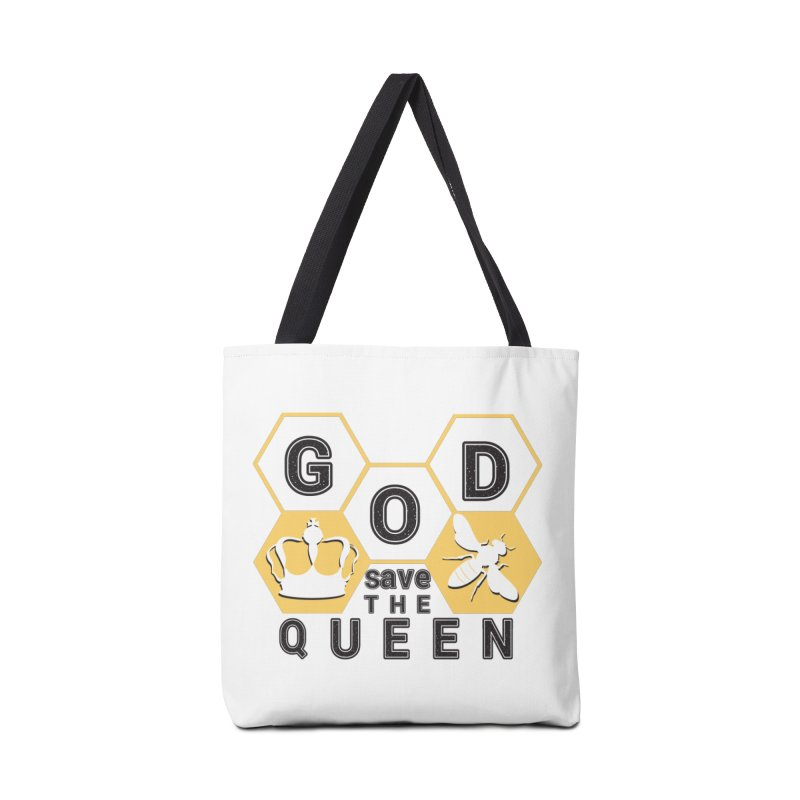 god save the queen_2 Accessories Tote Bag Bag by gabifaveri's Artist Shop