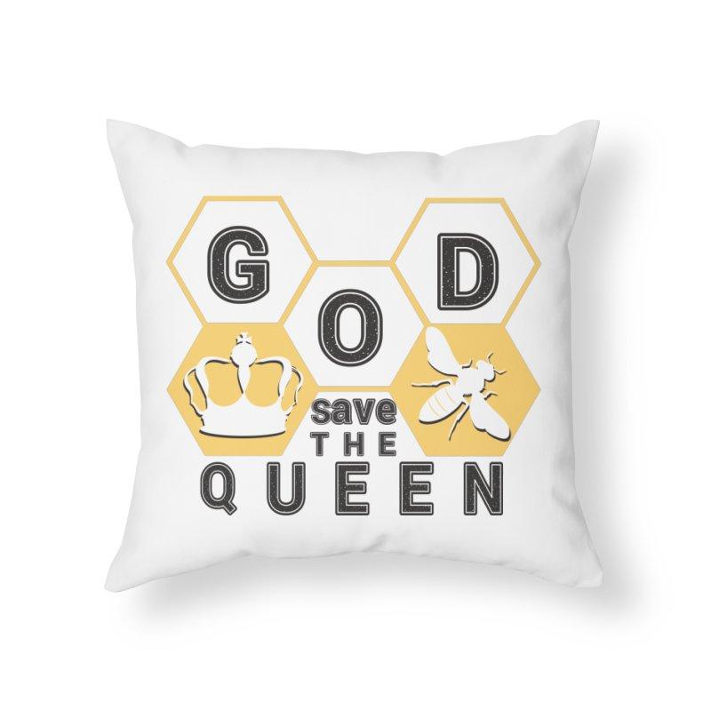 god save the queen_2 Home Throw Pillow by gabifaveri's Artist Shop