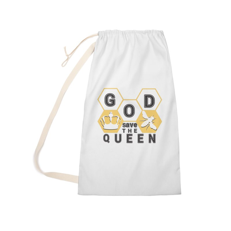 god save the queen_2 Accessories Laundry Bag Bag by gabifaveri's Artist Shop