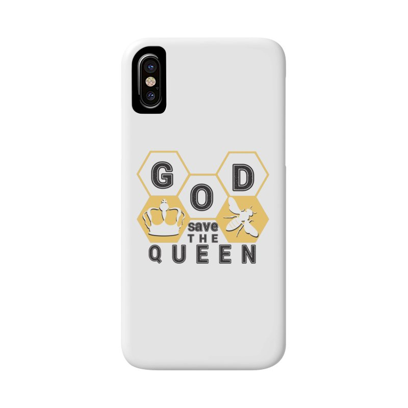 god save the queen_2 Accessories Phone Case by gabifaveri's Artist Shop