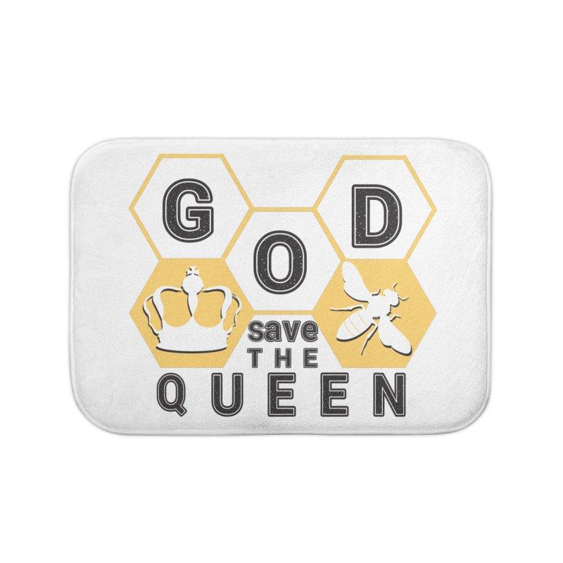 god save the queen_2 Home Bath Mat by gabifaveri's Artist Shop