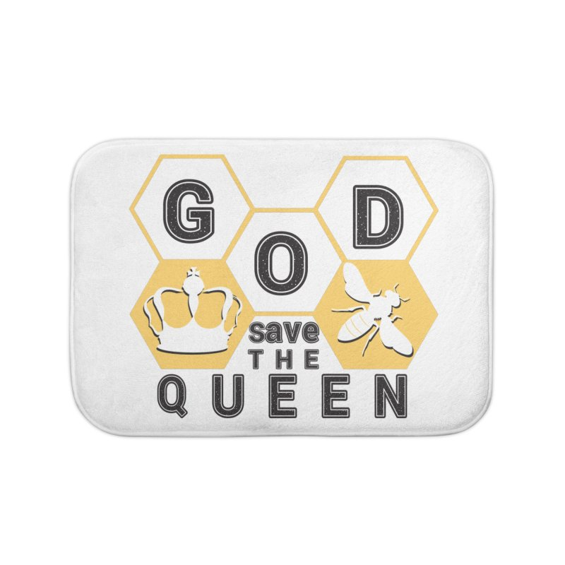 god save the queen_2 Home Bath Mat by gabifaveri's Artist Shop