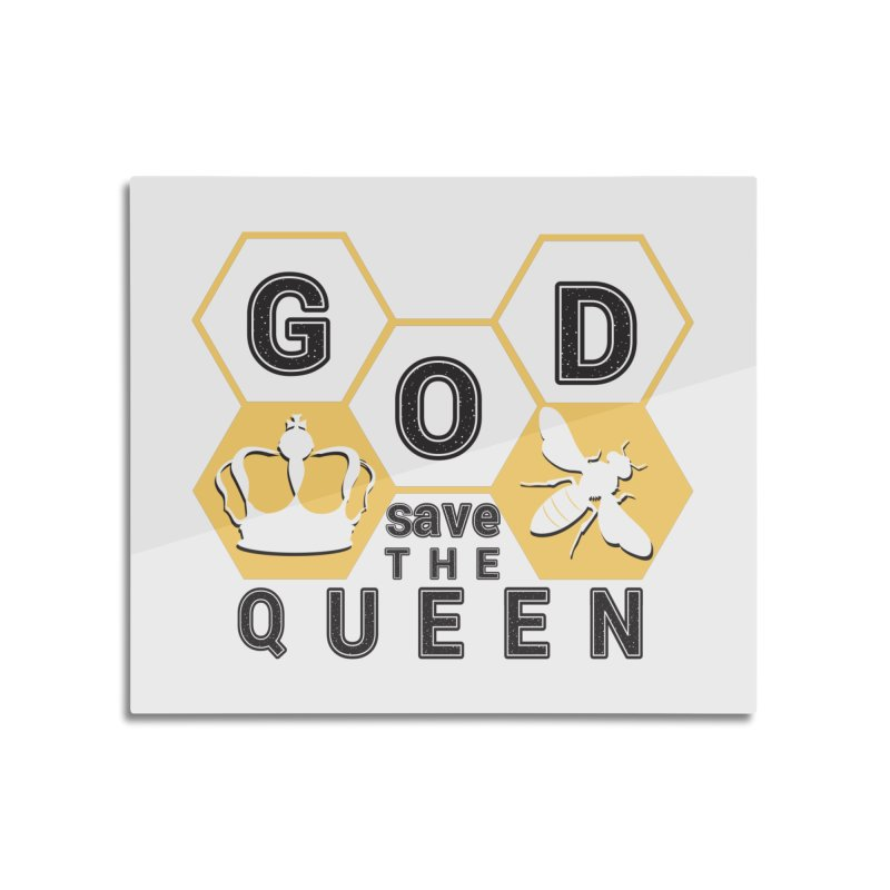 god save the queen_2 Home Mounted Acrylic Print by gabifaveri's Artist Shop