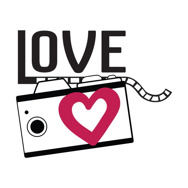 love photograph_camera_2 Home Fine Art Print by gabifaveri's Artist Shop