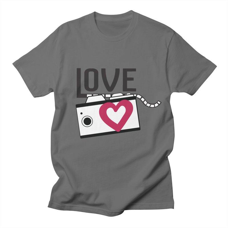 love photograph_camera_2 Men's T-Shirt by gabifaveri's Artist Shop