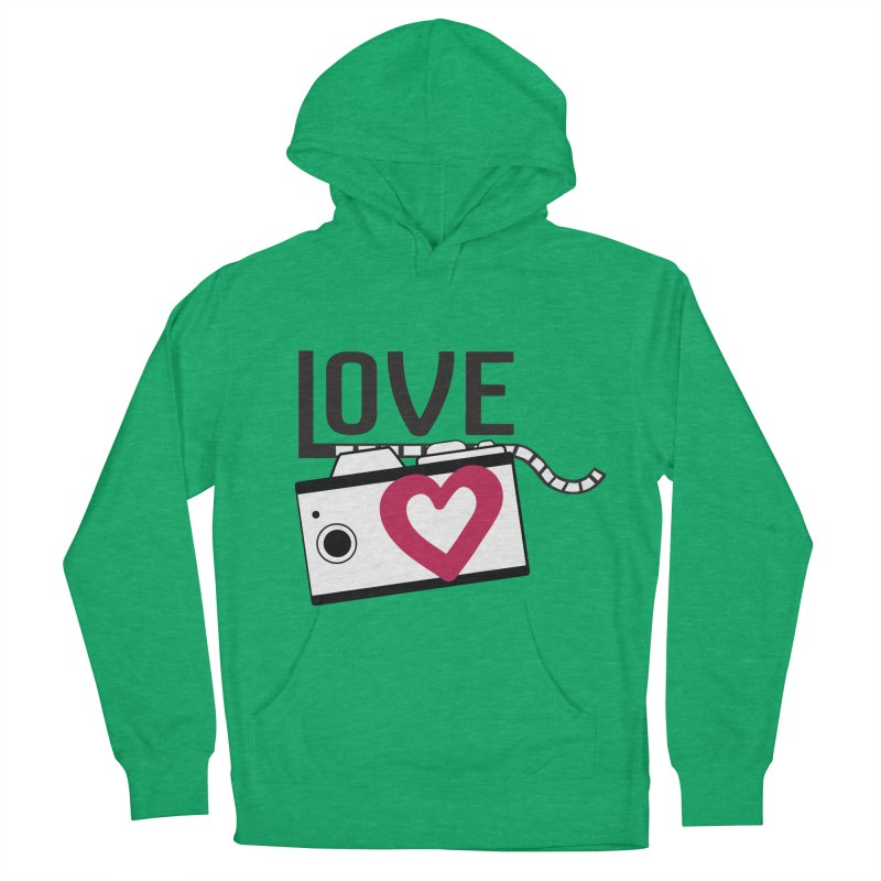 love photograph_camera_2 Women's French Terry Pullover Hoody by gabifaveri's Artist Shop
