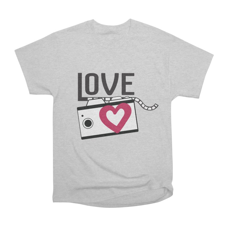 love photograph_camera_2 Women's Heavyweight Unisex T-Shirt by gabifaveri's Artist Shop