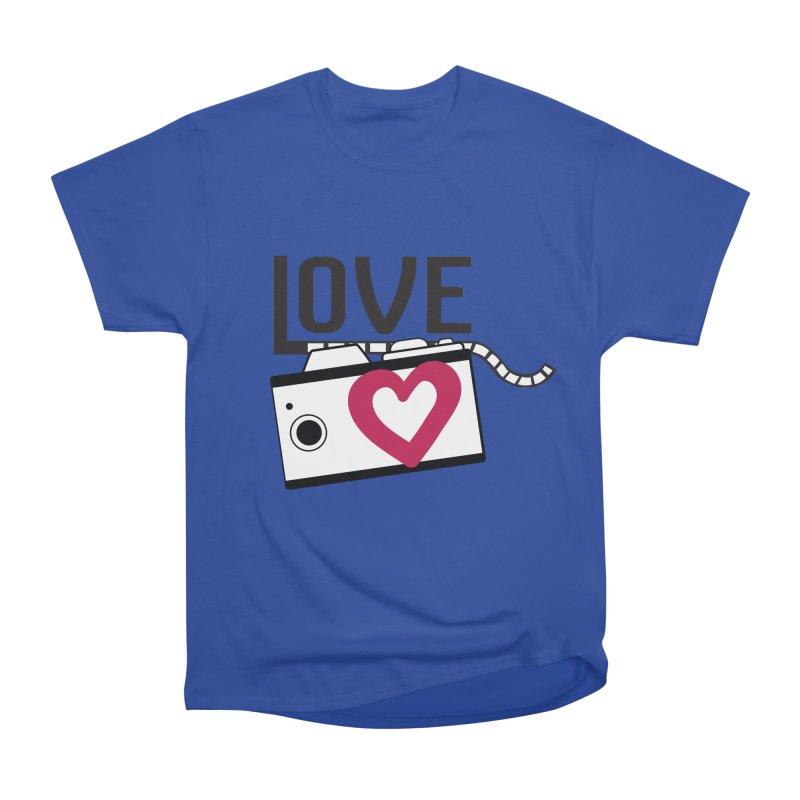 love photograph_camera_2 Men's Heavyweight T-Shirt by gabifaveri's Artist Shop