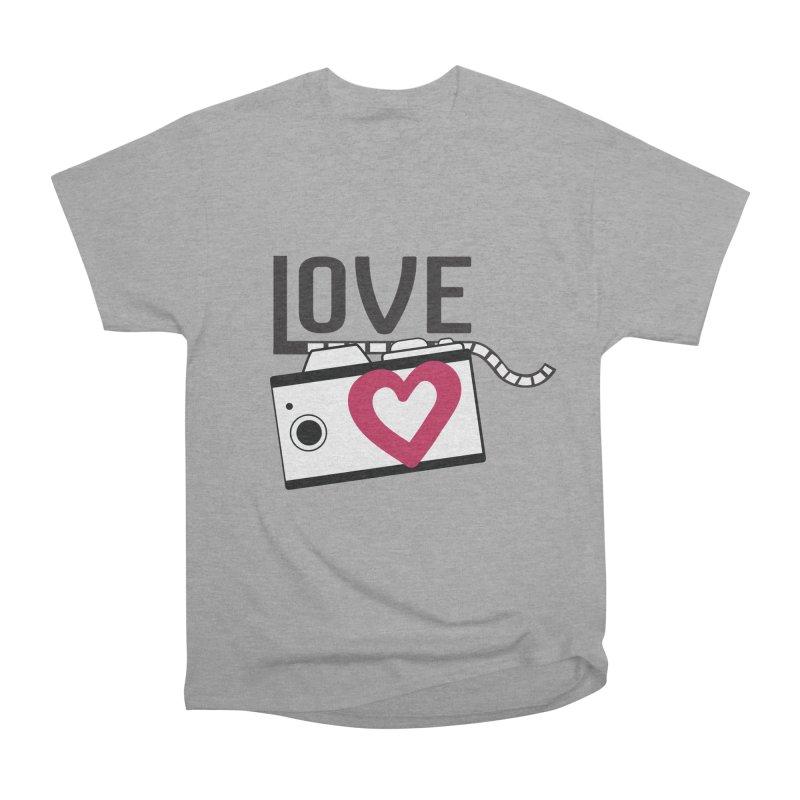 love photograph_camera_2 Women's Heavyweight Unisex T-Shirt by gabifaveri's Artist Shop
