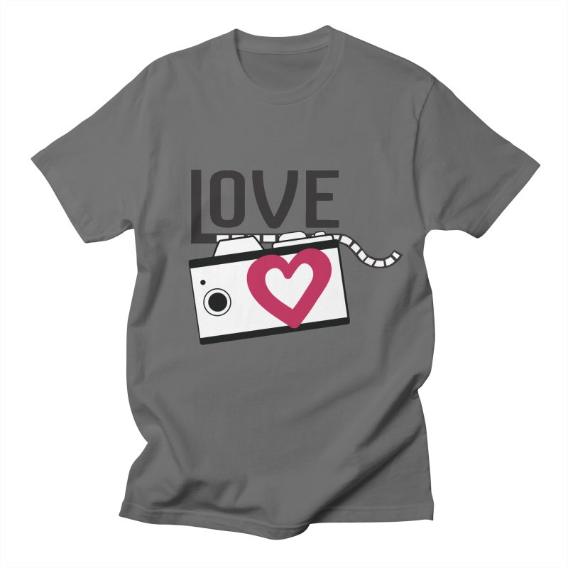 love photograph_camera_2 Men's T-Shirt by gabifaveri's Artist Shop