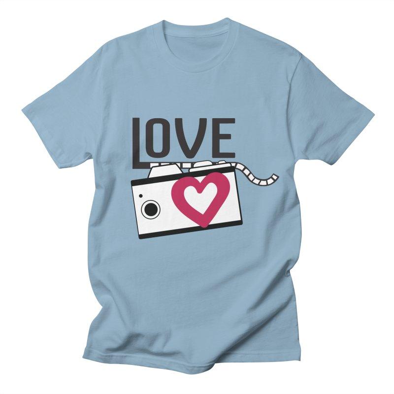 love photograph_camera_2 Men's Regular T-Shirt by gabifaveri's Artist Shop