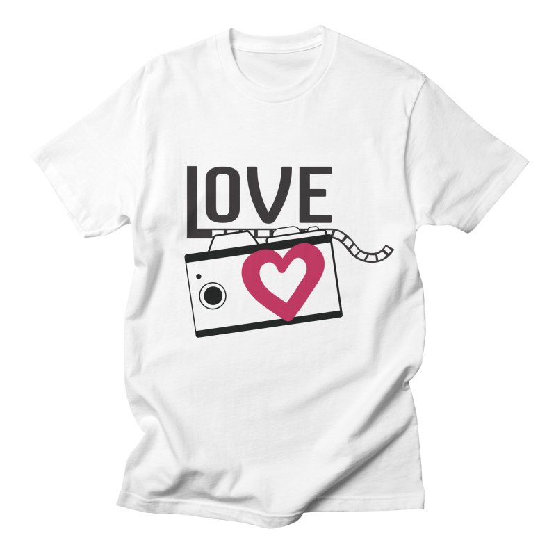 love photograph_camera_2 Women's Unisex T-Shirt by gabifaveri's Artist Shop