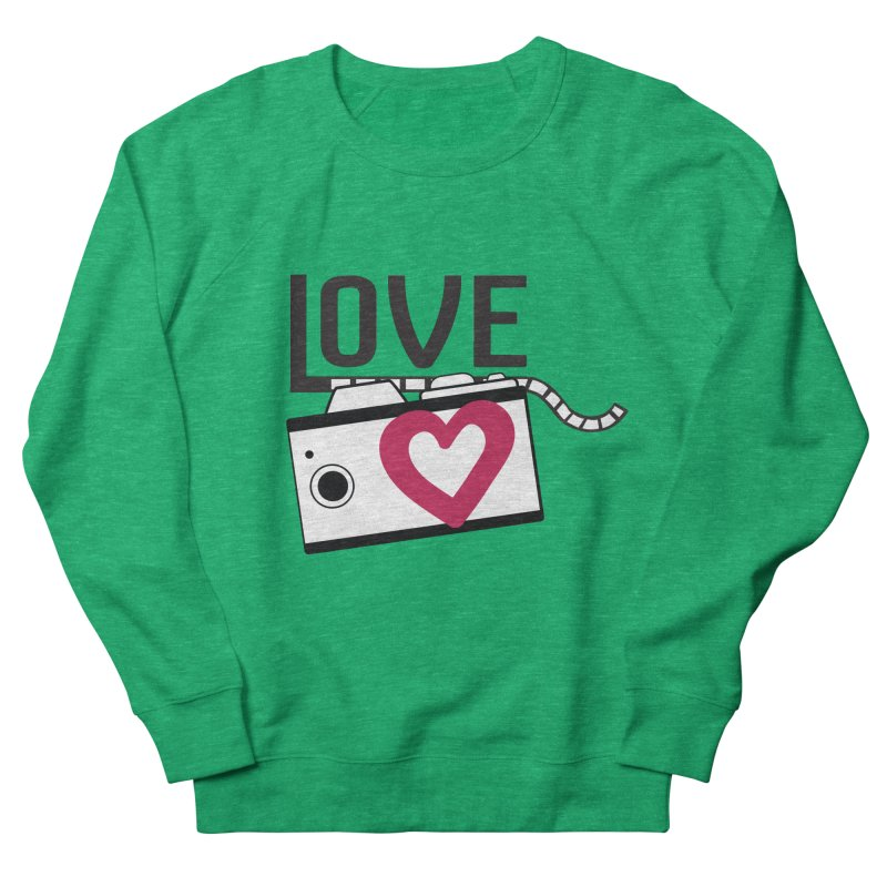 love photograph_camera_2 Women's French Terry Sweatshirt by gabifaveri's Artist Shop
