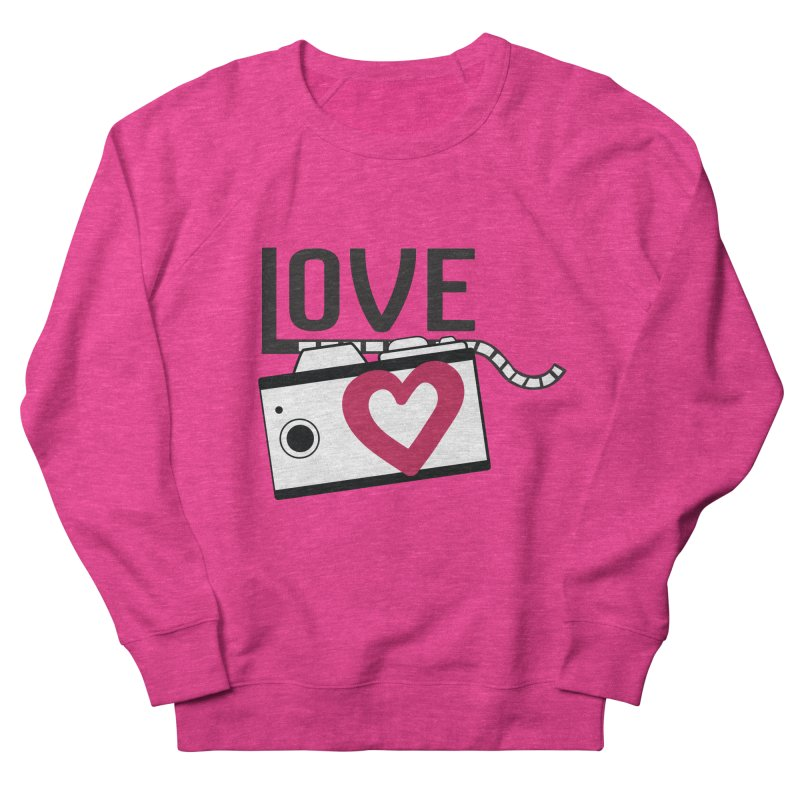 love photograph_camera_2 Men's French Terry Sweatshirt by gabifaveri's Artist Shop