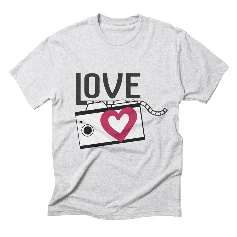 love photograph_camera_2 Men's Triblend T-Shirt by gabifaveri's Artist Shop