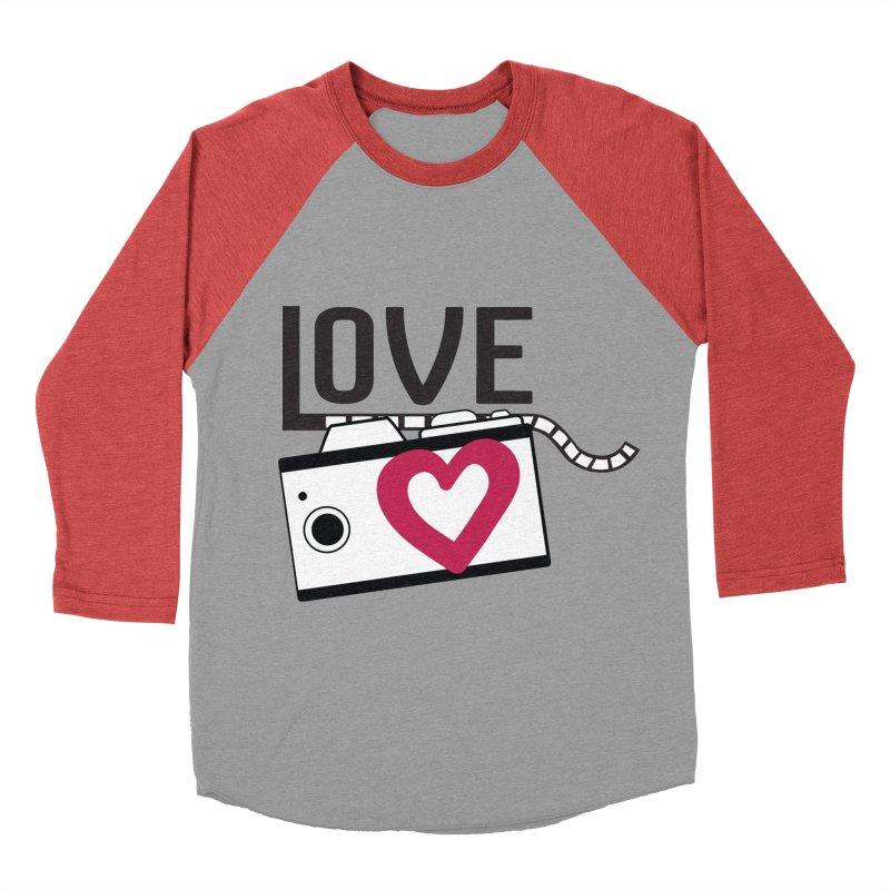 love photograph_camera_2 Women's Baseball Triblend Longsleeve T-Shirt by gabifaveri's Artist Shop