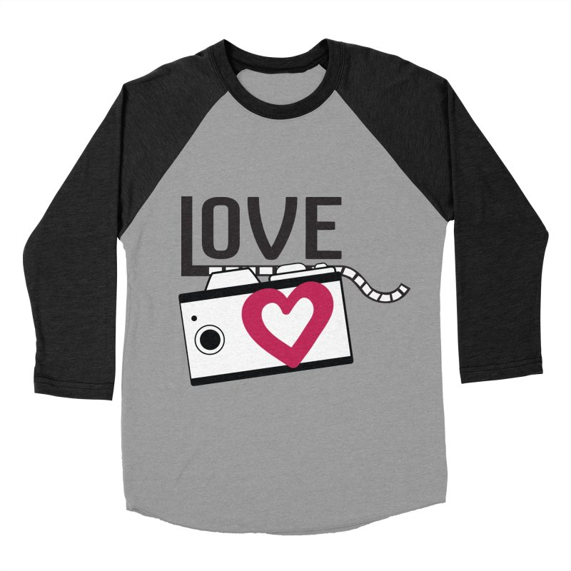 love photograph_camera_2 Women's Baseball Triblend Longsleeve T-Shirt by gabifaveri's Artist Shop