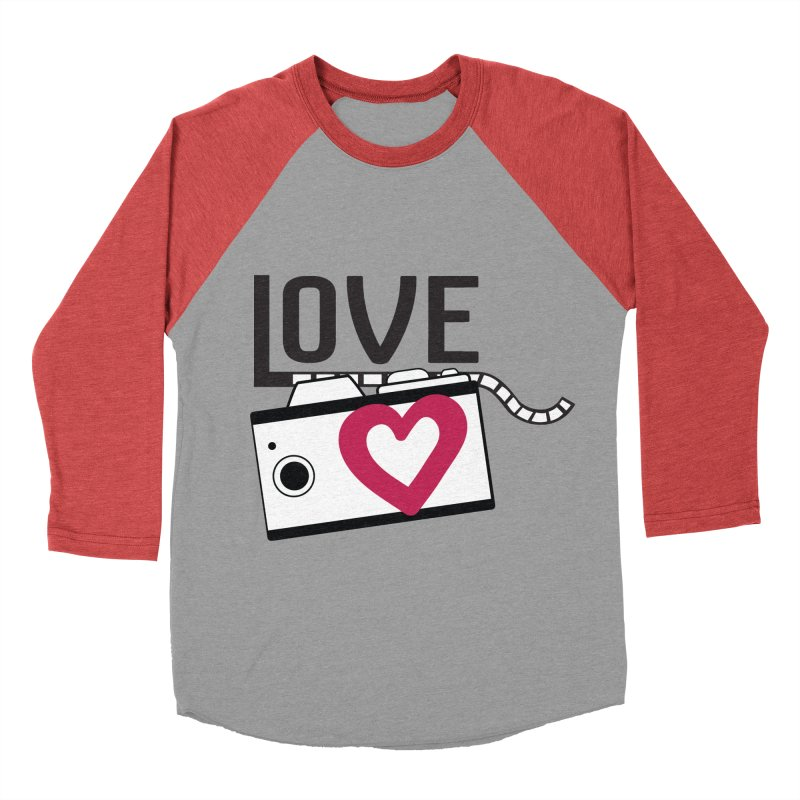 love photograph_camera_2 Men's Baseball Triblend Longsleeve T-Shirt by gabifaveri's Artist Shop