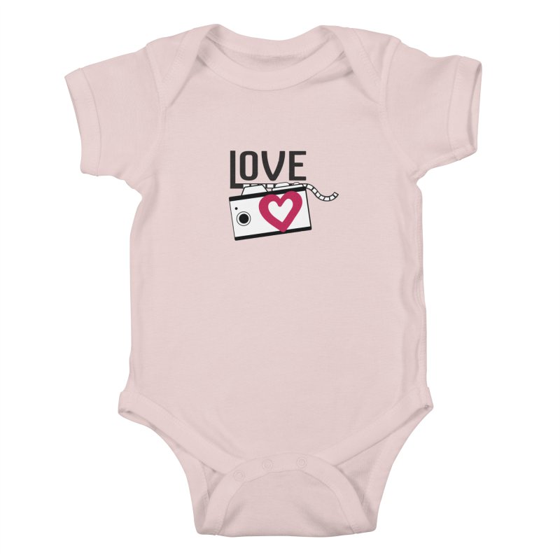love photograph_camera_2 Kids Baby Bodysuit by gabifaveri's Artist Shop