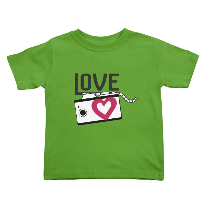 love photograph_camera_2 Kids Toddler T-Shirt by gabifaveri's Artist Shop
