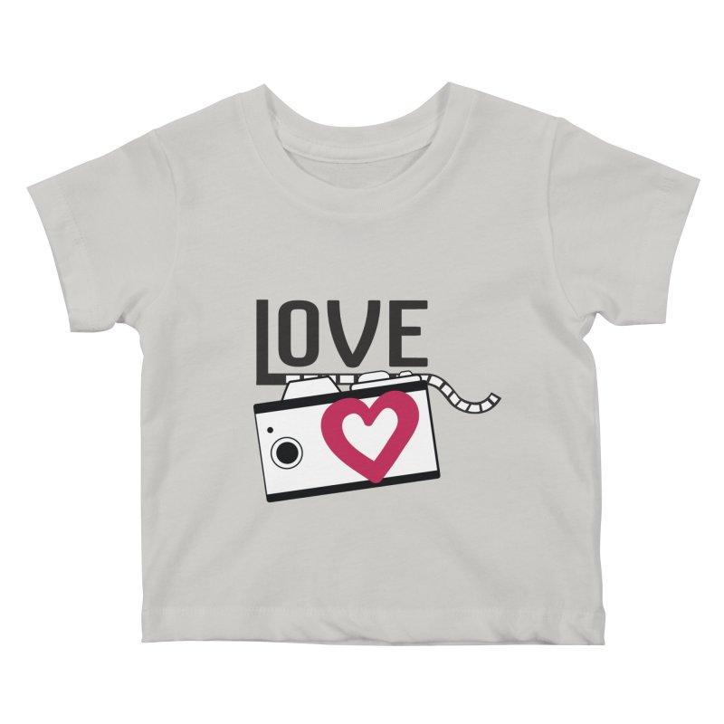 love photograph_camera_2 Kids Baby T-Shirt by gabifaveri's Artist Shop