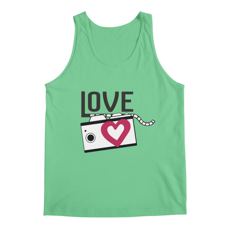 love photograph_camera_2 Men's Regular Tank by gabifaveri's Artist Shop