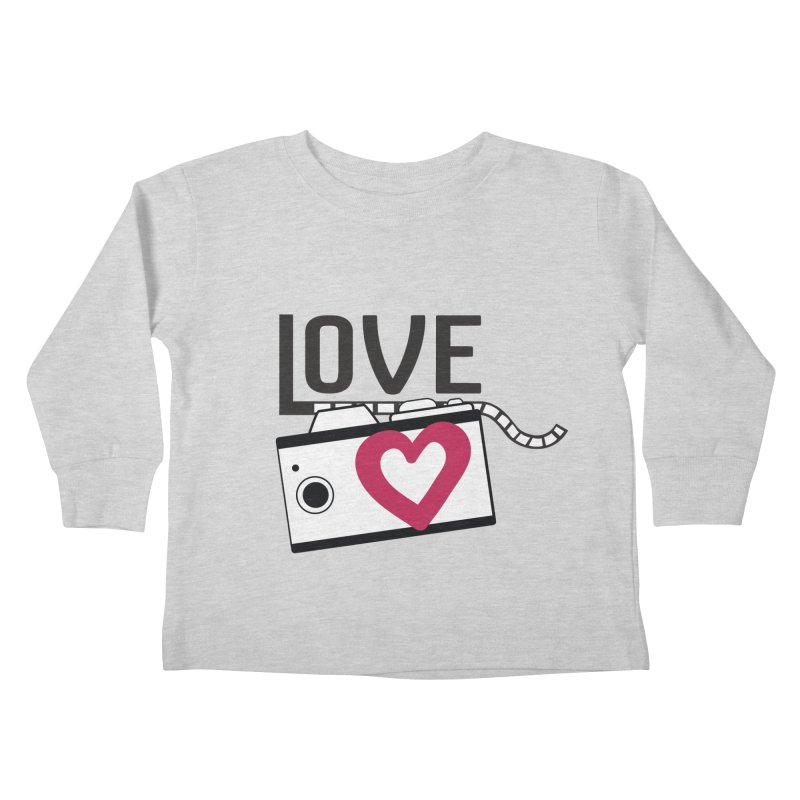 love photograph_camera_2 Kids Toddler Longsleeve T-Shirt by gabifaveri's Artist Shop