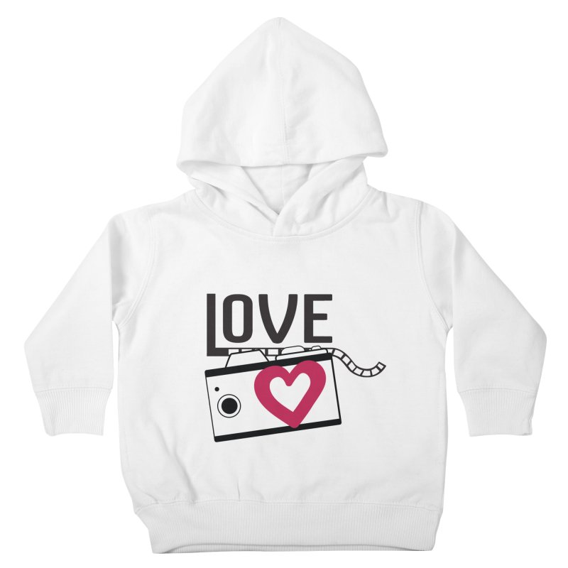 love photograph_camera_2 Kids Toddler Pullover Hoody by gabifaveri's Artist Shop