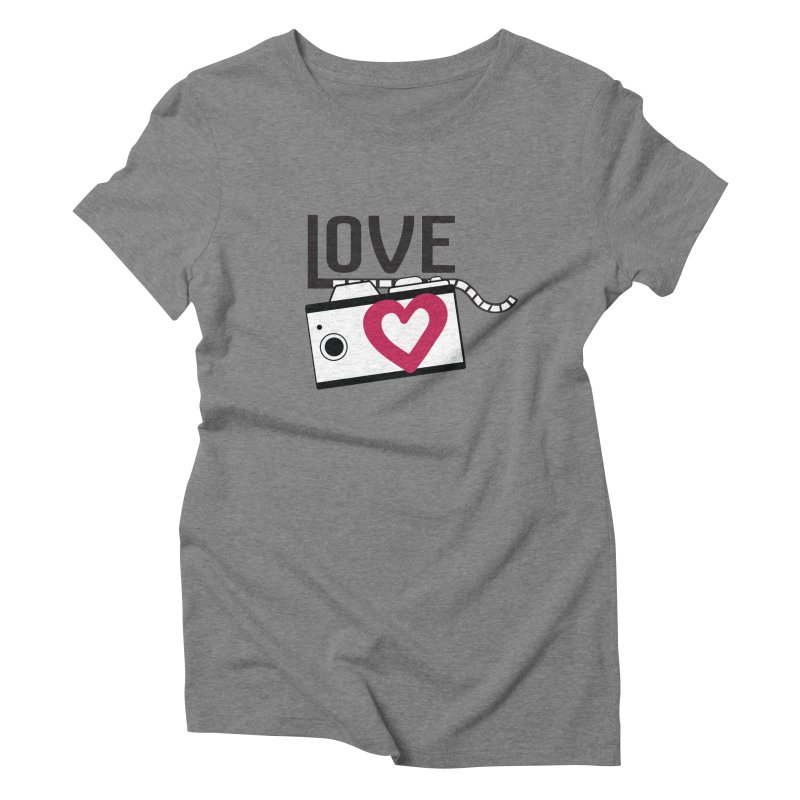 love photograph_camera_2 Women's Triblend T-Shirt by gabifaveri's Artist Shop