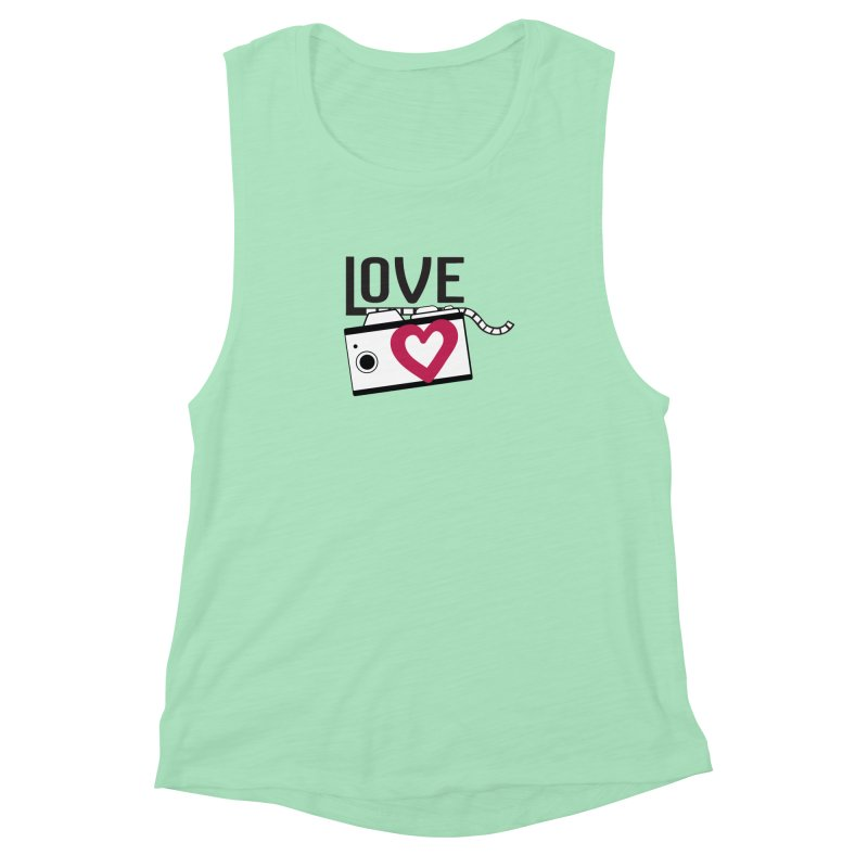 love photograph_camera_2 Women's Muscle Tank by gabifaveri's Artist Shop