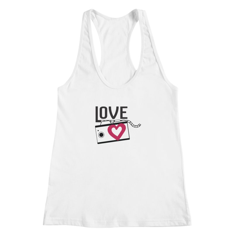 love photograph_camera_2 Women's Racerback Tank by gabifaveri's Artist Shop