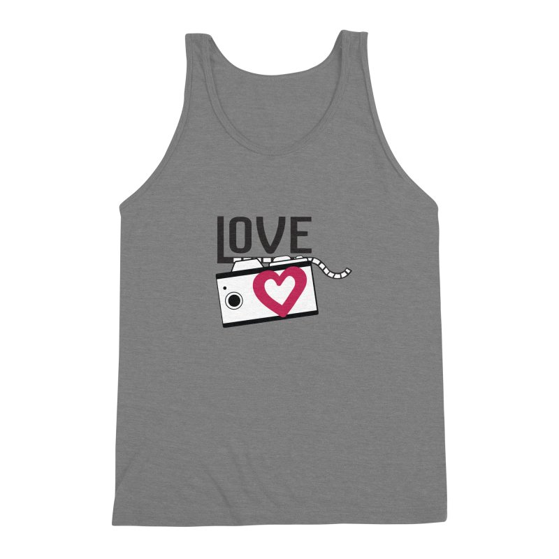 love photograph_camera_2 Men's Triblend Tank by gabifaveri's Artist Shop