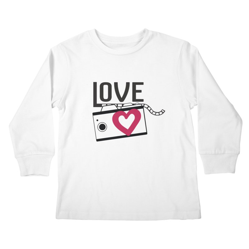 love photograph_camera_2 Kids Longsleeve T-Shirt by gabifaveri's Artist Shop