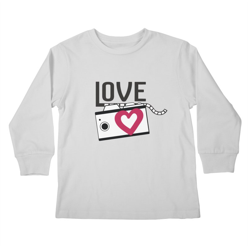 love photograph_camera_2 Kids Longsleeve T-Shirt by gabifaveri's Artist Shop